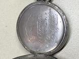 Серебрянные швейцарские часы (рабочие)(2) photo 10