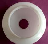 Плафон для торшера и ламп Цветок. Двойное белое молочное стекло., фото №7