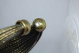 Широкий жесткий браслет с маркировкой MNG (Mango), фото №10