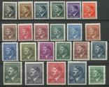 1942+1945 Рейх Богемия и Моравия Гитлер MNH ** 2 серии 89 - 110 + 142