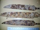 Три массивных лезвия ножей, фото №6