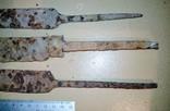 Три массивных лезвия ножей, фото №7