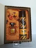 Набор из духов и дезодорант Дзинтарс 21 Цена 25руб 11 1989г, фото №2