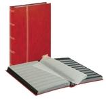 Кляссер серии Standard с 48 чёрными листами. 1169 - R. Красный.