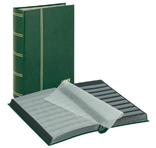 Кляссер серии Standard с 64 чёрными листами. 1170 - G. Зелёный. фото 1