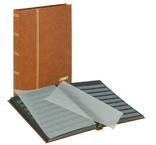 Кляссер серии Standard с 32 чёрными листами.1168 - H. Коричневый.