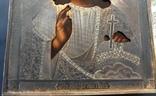 Икона Спас, оклад 84, позолота, съёмная рама photo 7