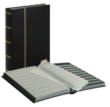 Кляссер серии Standard с 48 чёрными листами. 1169 - S. Чёрный. фото 1