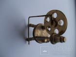 Коллекционная миниатюра Прялка. Латунь. Германия., фото №3