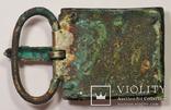 Большая пряжка с крестом.Готы.Серебро.8,2 см на 5 см. photo 11