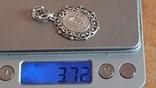 Иконка нательная. Серебро 925 проба. Вес 3.70 г., фото №8