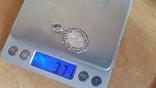 Иконка нательная. Серебро 925 проба. Вес 3.70 г., фото №10