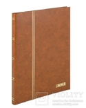 Кляссер Standard с 16 белыми страницами 230мм Х 305мм Х 15мм. 1160 - H. Коричневый. фото 1