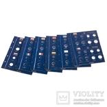 Альбом Vista для наборов eвромонет (12 стран) с футляром. Claserobl1set фото 2