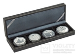 Нумизматическая кассета S серии Nera. 2362-4. Чёрный.