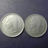 1 франк Бельгія 1952 (два різновиди), фото №2
