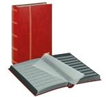 Кляссер серии Standard с 64 чёрными листами. 1170 - R. Красный.