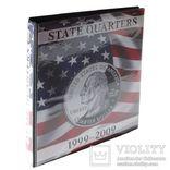 Иллюстрированный альбом State Quarters. Lindner 1106 SC.