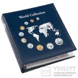Альбом для монет Leuchtturm, Numis World Collection с 5 листами для 143 монет. 324055