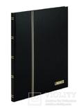 Кляссер серии Standard с 16 белыми страницами 230mm Х 305mm Х 15mm. 1160 - S. Чёрный.