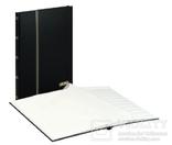 Кляссер серии Standard с 16 белыми страницами 230mm Х 305mm Х 15mm. 1160 - S. Чёрный. фото 2