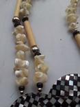 Ожерелье из перламутра, фото №4
