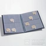 Альбом для монет до 33 мм на 96 монет Pocketm2bl. 335392 фото 1