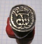 Перстень-печать щитковосрединный, фото №2
