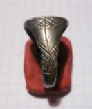 Перстень-печать щитковосрединный, фото №5