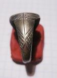 Перстень-печать щитковосрединный, фото №6