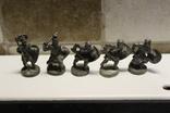 5 Вікінгів з одного набору, номерні 403-0--, вага всіх 70 грам photo 1