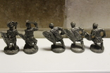 5 Вікінгів з одного набору, номерні 403-0--, вага всіх 70 грам, фото №6