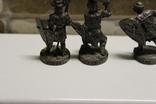5 Вікінгів з одного набору, номерні 403-0--, вага всіх 70 грам, фото №7