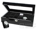 Шкатулка для часов и ювелирных украшений Safe. D-251. Черный
