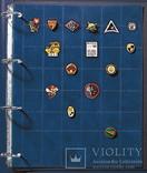 Альбом для значков Sаfe Professional A4.Темно-синий. 480-5510 фото 2