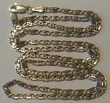 Цепочка 13 серебро, фото №2