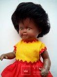 Кукла негритянка черепашка Schildkrot 18см ГДР, фото №3