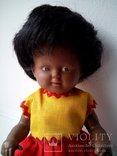 Кукла негритянка черепашка Schildkrot 18см ГДР, фото №6