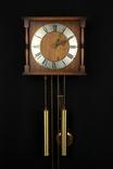 Настенные маятниковые часы с боем. Hermle. Механизм FHS. Германия. (076)