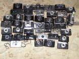Фотоаппараты разные 41 шт. + разные кофры., фото №3