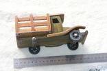 Машина. Грузовик с натур. дерева. СССР., фото №3