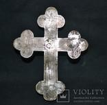 Крест мощевик 19-й век, фото №2