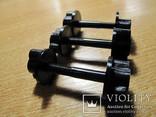Крепежный винт 3 ШТ катушки к штанге 6 мм с гайкой.(Minelab, X-terra 705 и др).