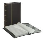 Кляссер серии ELEGANT с 64 чёрными страницами. 1179 - S. Чёрный.