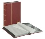 Кляссер серии ELEGANT с 64 чёрными страницами. 1179 - R. Красный.