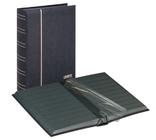 Кляссер серии ELEGANT NUBUK с 60 чёрными страницами. 1181 - S. Чёрный.