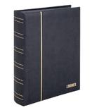 Кляссер серии ELEGANT NUBUK с 60 чёрными страницами. 1181 - S. Чёрный. фото 2