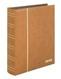 Кляссер серии ELEGANT NUBUK с 60 чёрными страницами. 1181 - H. Коричневый. фото 2
