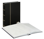 Кляссер серии Standard с 48 белыми страницами. 1162 - S. Чёрный.