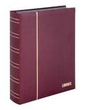 Кляссер серии ELEGANT NUBUK с 60 чёрными страницами. 1181 - R. Красный. фото 2
